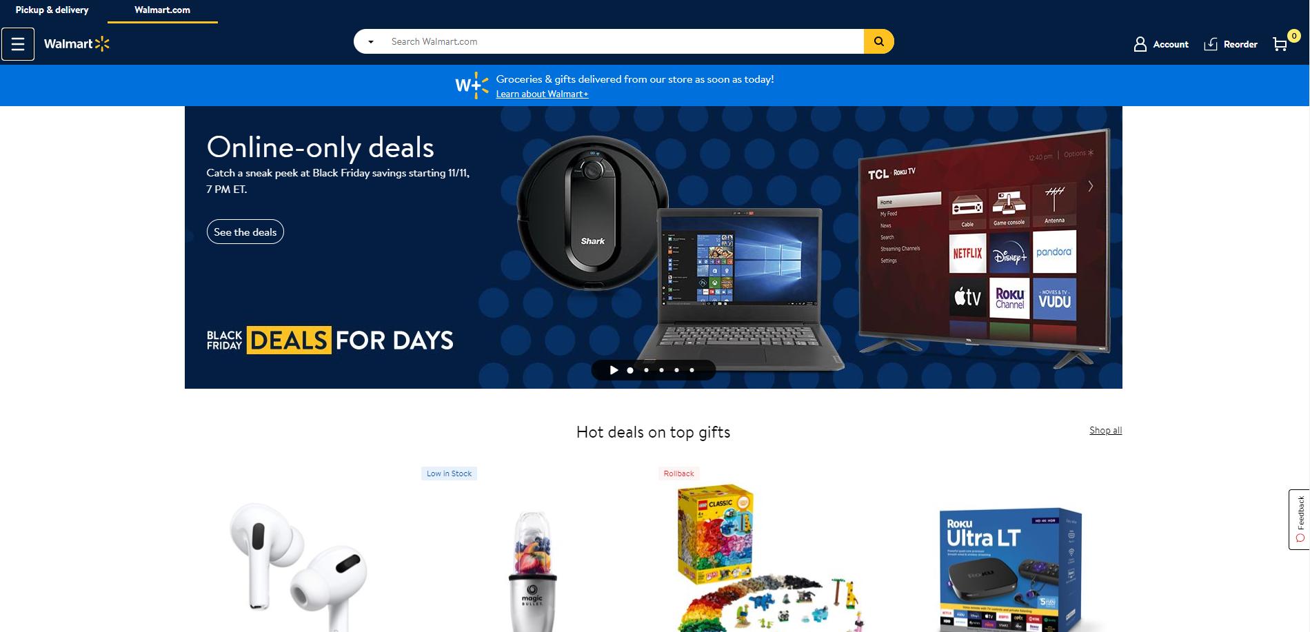 Walmart Black Friday Promotion