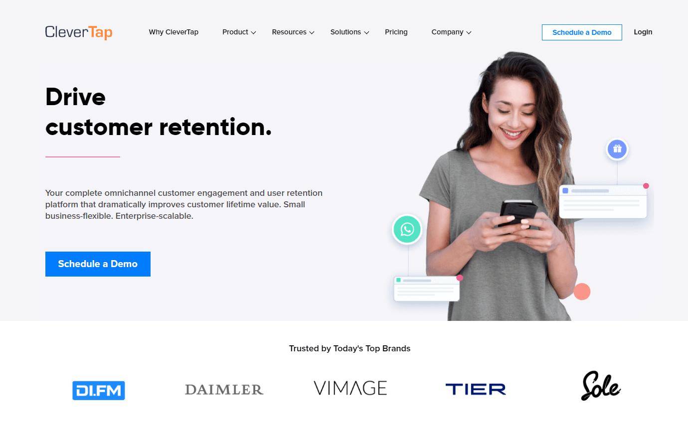 Clevertap Screenshot