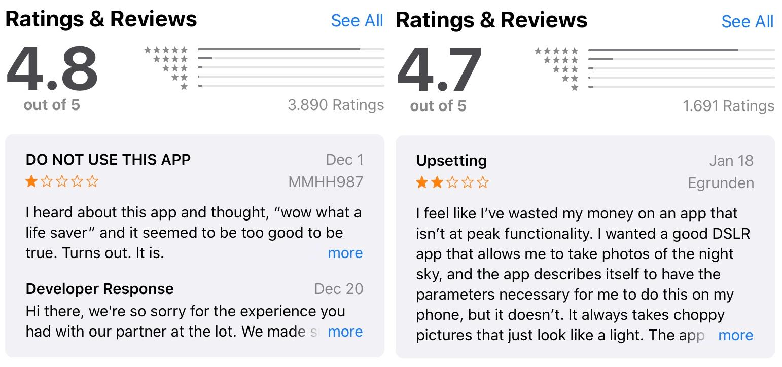 App Negative Bewertungen Antworten