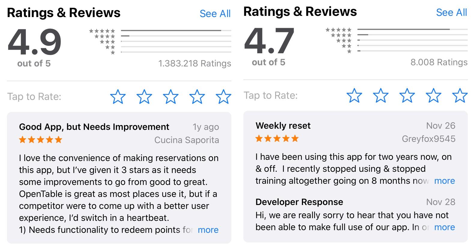 App Positive Bewertungen Antworten