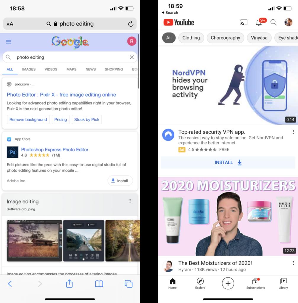 Google App Campaign Youtube Beispiel