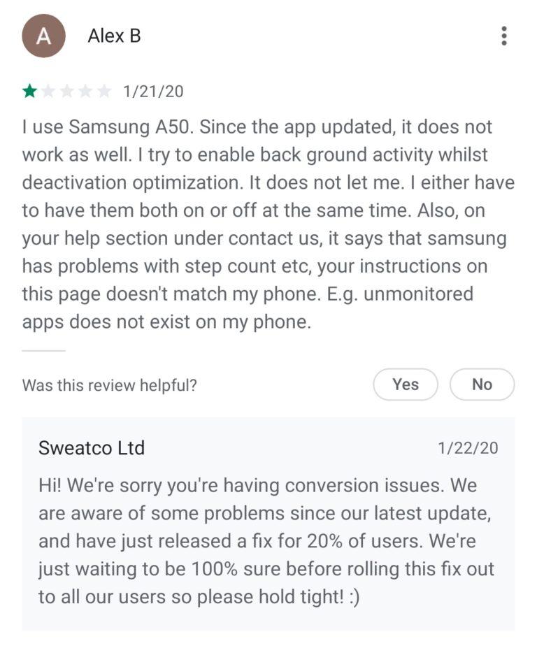 Informiere Nutzer App Updates Mit Fehler