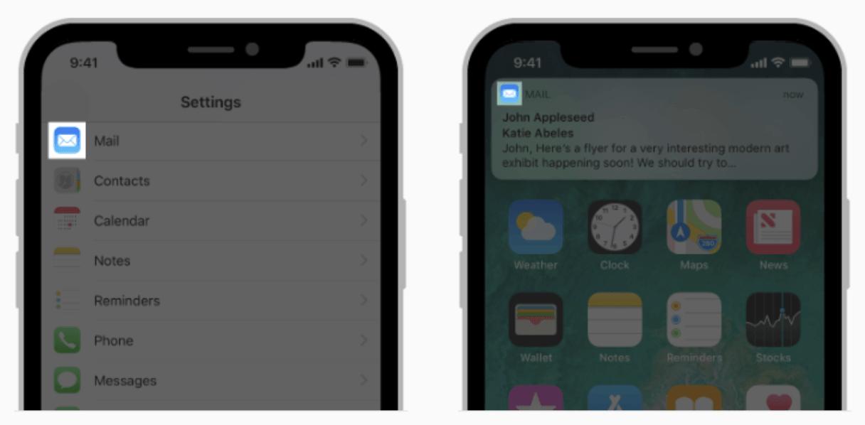 Ios Kleine App Icon Location