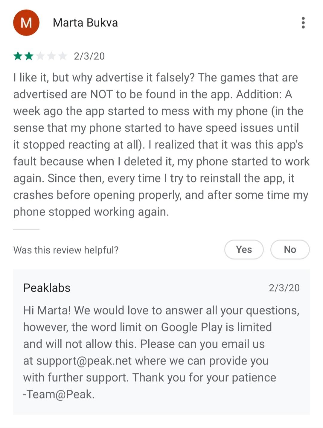 Nimm Das Gesprach Aus Dem Google Play