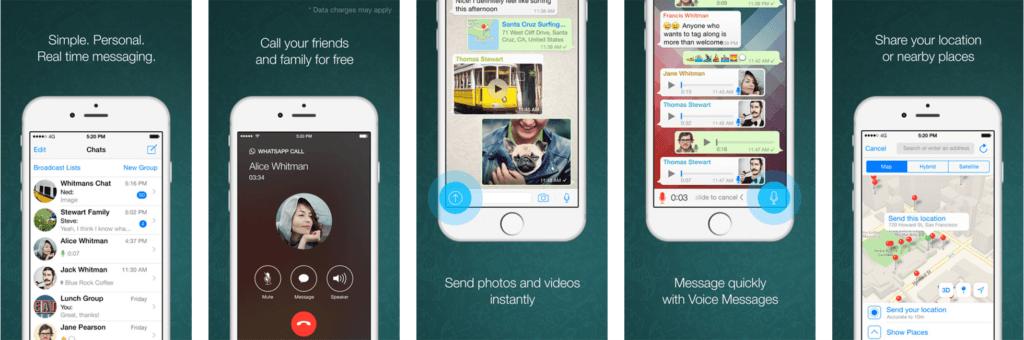 Whatsapp App Store Screenshots De