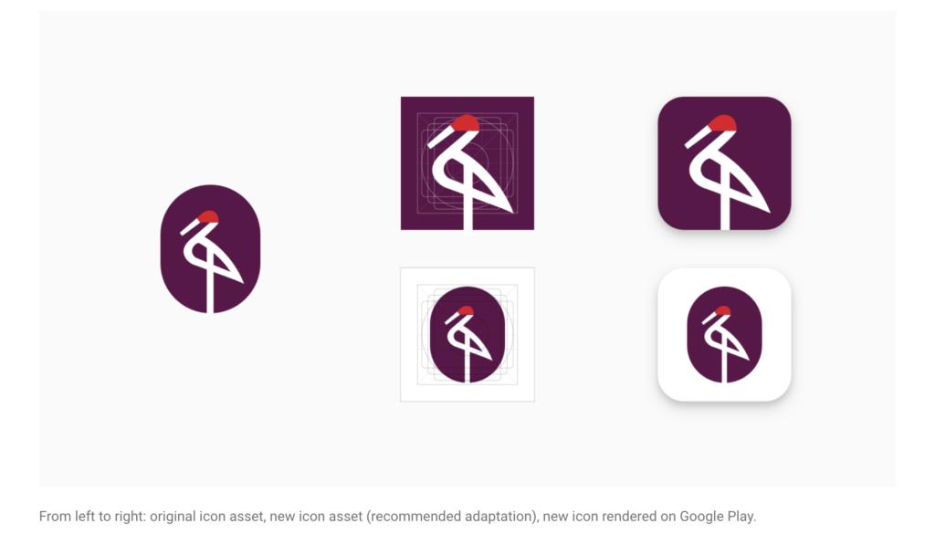 Google Play App Icon Flexible Redesign