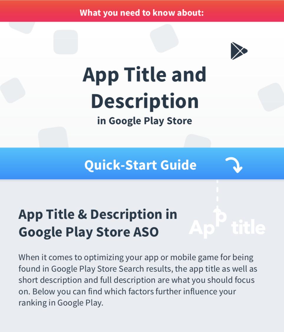 App Growth E-Books, Guides And More - App Radar